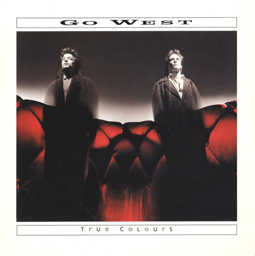 Go West single 1986 Photography by Brian Griffin