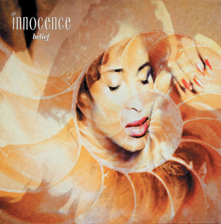 Innocence Belief single 1990 Photography by Simon Fowler