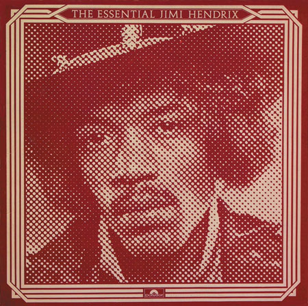 The Essential Jimi Hendrix LP 1977 by John Pasche